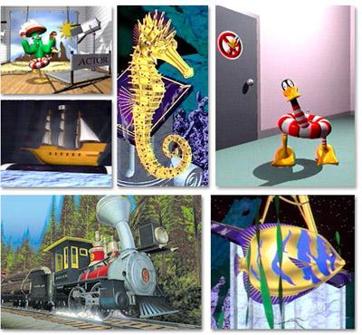 Varied screenshots